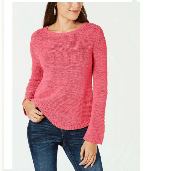 Style & Co Sweaters - Style&Co XL Berry Punch Pullover Sweater 4AB43